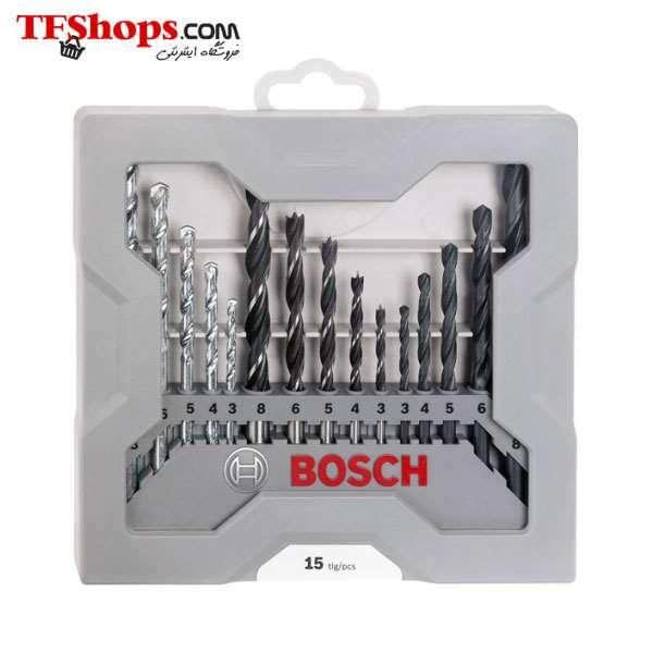 ست 15 عددی انواع مته X-Line بوش 2607017038