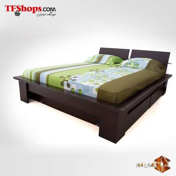 تخت خواب دو نفره 160cm - مدل B1 تهران فرم