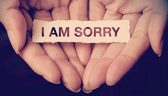 اهمیت داشتن فرهنگ عذرخواهی