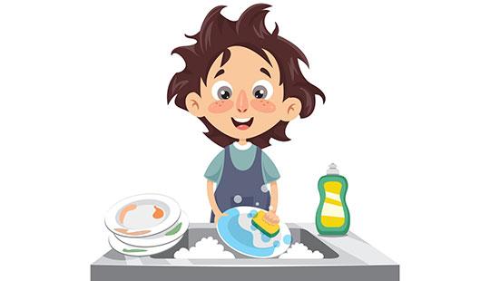 راهنمایی برای بهتر شستن ظرفها