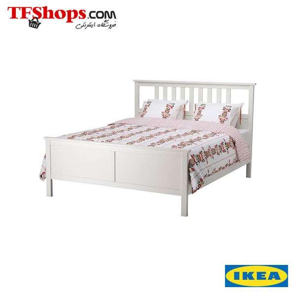 تخت خواب دو نفره 180 سفید هـمنس