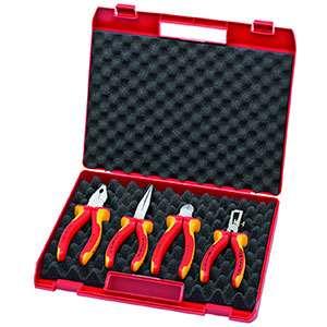 جعبه ابزار به همراه ست 4 عددی ابزار فشار قوی 00.20.15 کنیپکس