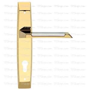 پلاک دستگیره سوئیچی کروم طلایی 3562 بهریزان