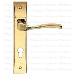 پلاک دستگیره سوئیچی طلایی +4052B بهریزان