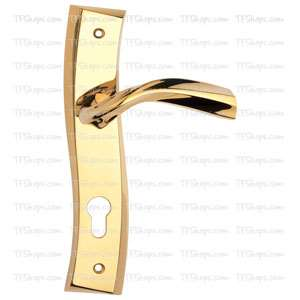 پلاک دستگیره سوئیچی طلایی 4852 بهریزان