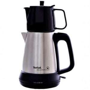 چای ساز استیل با قوری بی جی 508 تفال