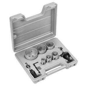 BOSCH 2607018389 9-Piece Electricians Holesaw Set