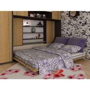 پک جک و فریم افقی دو نفره 200×160 تخت خواب تاشو اچ تی ام | HTM Horizontal Double