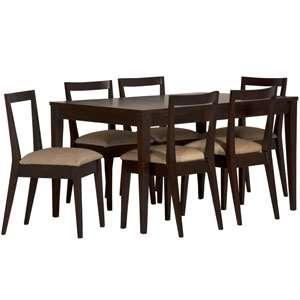 میز و صندلی ناهارخوری شش نفره مدل L3 تهران فرم