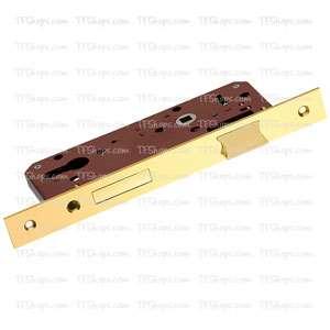 قفل پهن سوئیچی 75mm طلایی +ML455B بهریزان