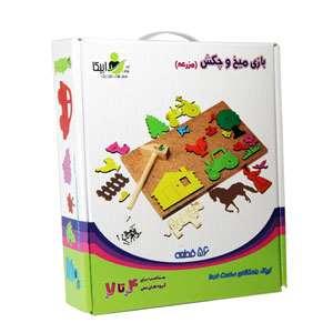 بازی میخ و چکش مزرعه GD2010 ایران پتک