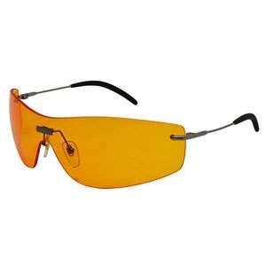 عینک ایمنی قهوه ای با دسته فلزی SS2312 پارکسون