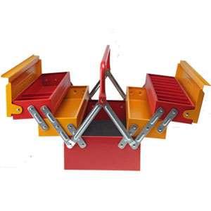 جعبه ابزار فلزی 2 طبقه TG1011 ایران پتک