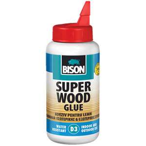 چسب چوب 250 گرمی قوی دی 3 بایسون