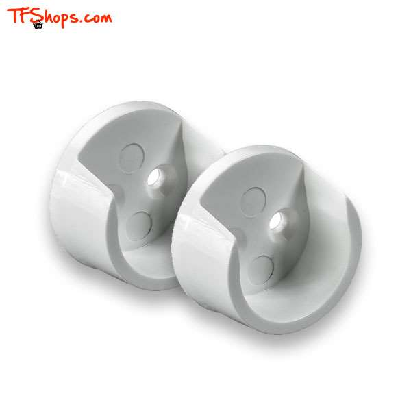 بسته 2 عددی بست پلاستیکی لوله 20 میل سفید 0089156 هتیچ