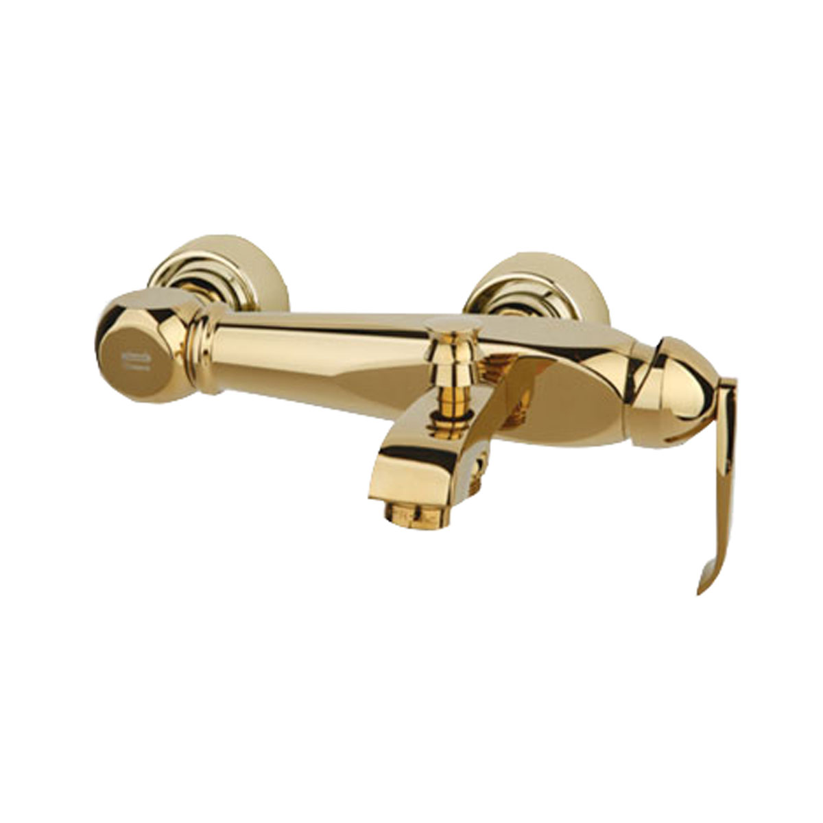 شیر حمام راسان مدل آلیس رنگ طلایی