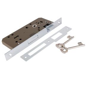 قفل کلیدی 45 میل کروم براق ML453-1 بهریزان