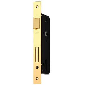 قفل پهن سوئیچی 80mm طلایی +ML505B بهریزان