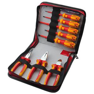 ست 9 عددی پیچگوشتی و انبر فشار قوی G99-18-W09PH ستافرم
