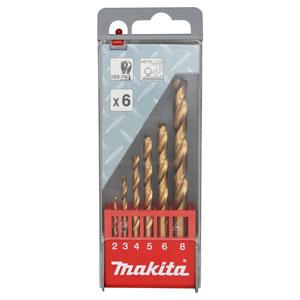 مجموعه 6 عددی مته فلز ماکیتا مدل D-44183