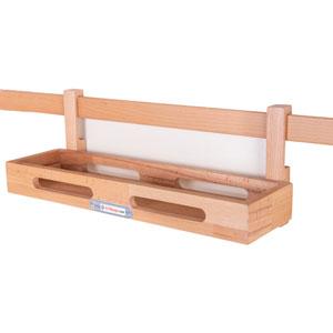 جای ادویه چوبی آویز یک طبقه SPH-01 به همراه قید و بست تهران فرم