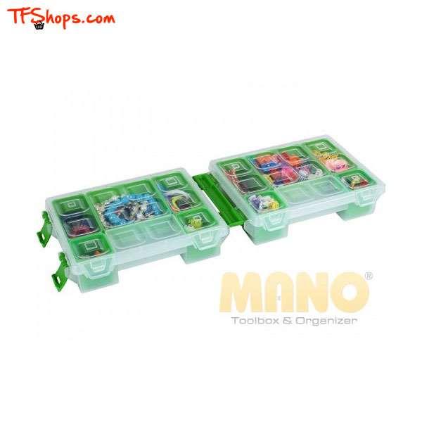جعبه تقسیم دوقلوی 7 اینچی مشکی سری TORG مانو