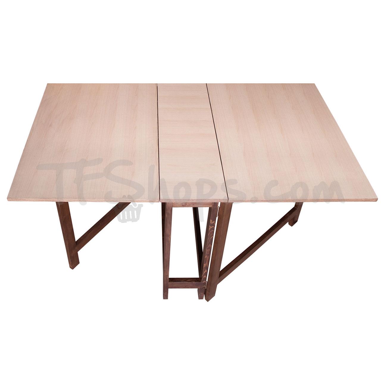 میز تاشو بدون کشو تهران فرم