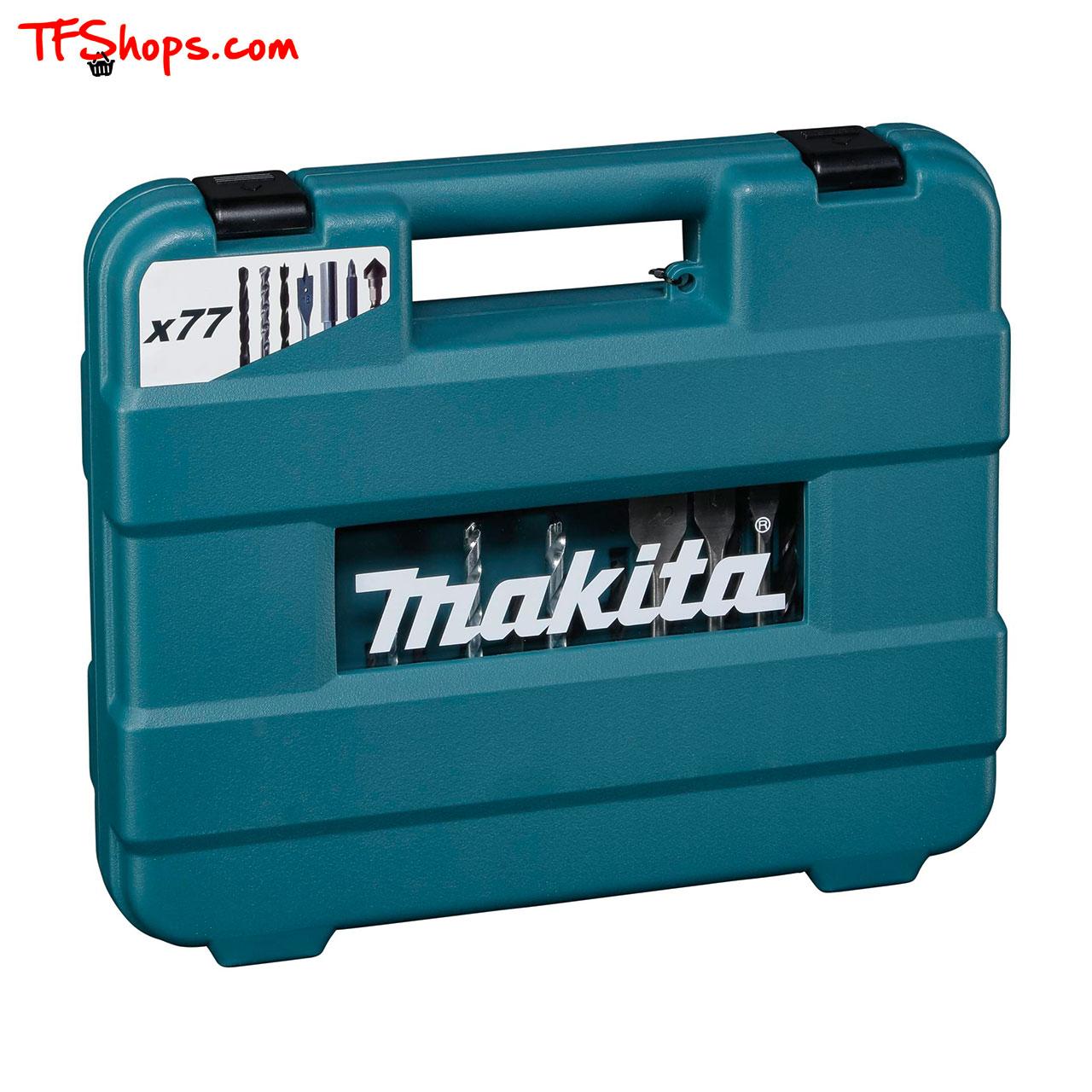 مجموعه 77 عددی مته و سرپیچگوشتی ماکیتا مدل D-47226