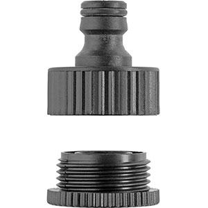 اتصال شیلنگ 1/2 و 3/4 اینچ کارشر